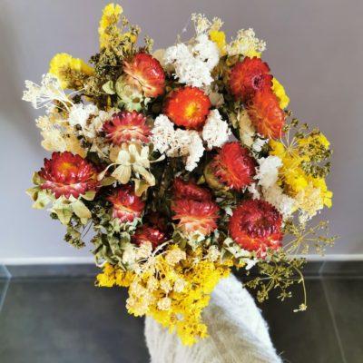 bouquet seche fleurs decoratm