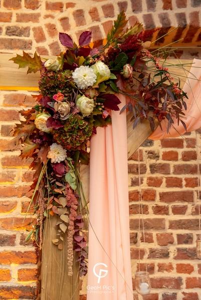 fleurs arche mariage decoration decoratm
