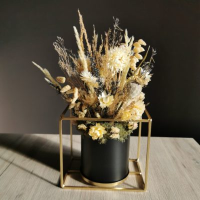 fleurs sechees composition decoratm